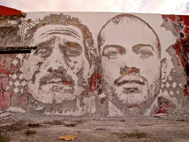 Vhils in Miami (1)