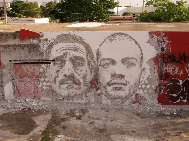 Vhils in Miami (2)