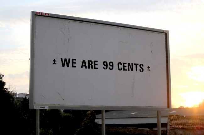 We are 99 cents