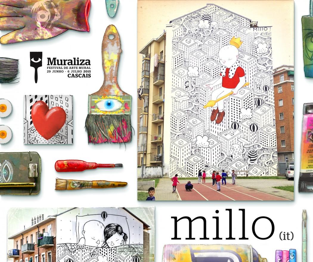 MURALIZA 2015 - 4 _ artista - MILLO
