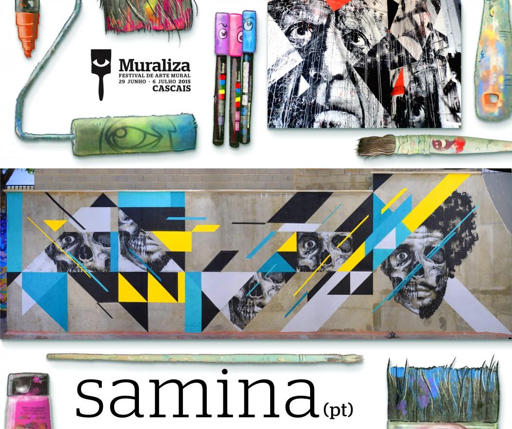 MURALIZA 2015 - 8 _ artista - SAMINA