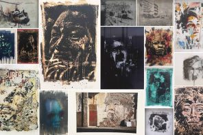 """Vhils Selected Prints 2006-2016"" coming"