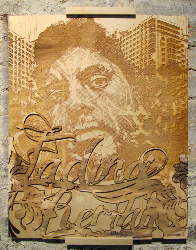 Fading Remains Vhils
